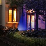 Automobile solaire neuve de projecteur de 7 DEL Couleur-Changeant la lumière actionnée solaire imperméable à l'eau de mur d'horizontal de garantie pour le jardin extérieur