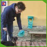 Sac en plastique fait sur commande d'animal familier de fournisseur de la Chine/sac de rebut d'animal familier
