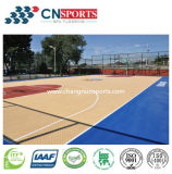 Textura de madeira Sport Parque de estacionamento para piso de basquete interior / exterior