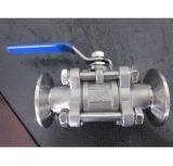 Válvula de esfera do aço inoxidável do eixo, válvula de esfera de bronze, válvula de esfera de cobre