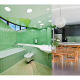벽을%s 유일한 녹색 스테인드 글라스 모자이크