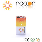 Célula de 9V Bateria Seca Alcalina Non-Rechargeable Ultra Bateria