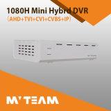 Großhandels1080h Ahd Tvi Cvi IP-Mischling 4CH Mini-DVR