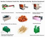 Linea di produzione di bambù del Toothpick del selezionamento di dente macchina