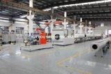 La chaîne de production de pipe de PE d'approvisionnement en eau de gaz HDPE siffle la ligne d'extrusion