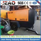 Due compressore d'aria della vite di estrazione mineraria del cilindro delle rotelle 6 per il Jackhammer