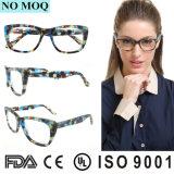 Plus tard populaires lunettes d'acétate de gros châssis optique pour les femmes