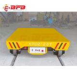 Elektrische Materiële Wagen met het Frame van het Staal op Spoorwegen (kpd-5T)