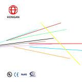Cabo de fibra óptica redondo da única modalidade de 4 núcleos