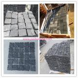 Jardín de granito natural material para la decoración de adoquines