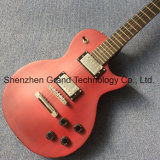 Стандартный Lp электрической гитаре красного вина с дерева Fretboard из одной части горловины (НЛП-213)