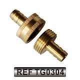 Jardin d'acier accessoires du connecteur du raccord de flexible de tuyau flexible (TG0301)