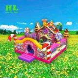 Het Springen van het Huis van het suikergoed Kasteel van de Dia van Funcity Bouncy van het Huis het Opblaasbare