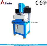 Heißer Verkauf Mini-CNC-Fräser 4040 4 Mittellinie CNC-Fräsmaschine mit der Hälfte umgeben