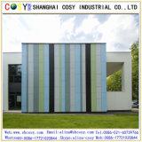 Revestimento de madeira interior da parede/painel composto de alumínio grão de madeira