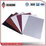El panel compuesto de aluminio PVDF de la decoración nana de la pared de Ideabond para el exterior