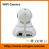 Kabeltelevisie Camera van Factory Direct WiFi PTZ Wireless 1.0MP van de robot met Memory Card