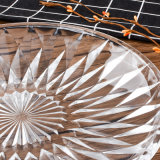 명확한 유리제 다이아몬드 디자인 격판덮개