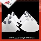 Peinture de la crépine de cône en papier jetables pour les ventes