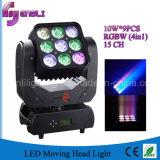 9*10W 4in1 LED Stadiums-bewegliche Hauptbeleuchtung (HL-001BM)