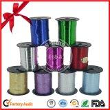 PP el carrete de cinta metálica de Navidad para el embalaje de regalo