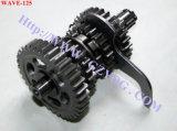 Scatola ingranaggi principale completa dell'asse di rotazione della contro asta cilindrica della domestica del motore dei pezzi di ricambio del motociclo di Yog