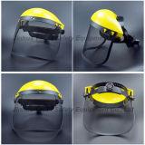 Protector de cara principal del visera del PVC del engranaje de los PP (FS4014)
