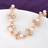 Comercio al por mayor Western hechos a mano Pulsera de la joyería de perlas y cristal
