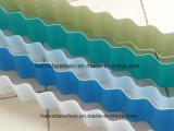 Folha ondulada tradicional da telhadura da onda da telhadura Tile/PVC da longa vida da qualidade superior 1.5mm