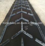 Bande de conveyeur de Chevron pour le transport de la cornière 0-40