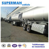2 der Wellen-20FT Kraftstofftank-LKW-Liter des Schlussteil-, Kraftstoff-Tanker für Verkauf