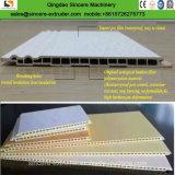 PVC木製のファイバーの機械を作る合成の壁パネルのウォールボード