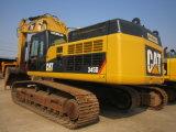 Grande excavatrice utilisée du chat 345D d'excavatrice à vendre