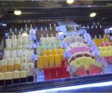 El equipo de tienda de helados helado congelador Counter