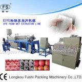 Red de la espuma de la fruta del polietileno/máquina de alta tecnología de la protuberancia de la estera de la espuma