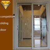 디자인된 유리를 가진 Foshan 공장 실내 알루미늄 미닫이 문