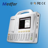 Électrocardiographe de Medfar Mf-Xcm600 6-Channel ECG avec du ce