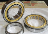 Rolling Mill Bearing Nu219 with Brass Cage M Nu Nj Nup Nnu N220 Roller Bearing