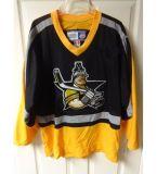 Настроить Echl Texas Instruments Wildcatters мужская дети женщин желтого цвета черный хоккей футболках Nikeid Goalit вырезать пользовательские любое имя любой № дешевые футболках NIKEID