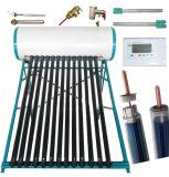 chauffe-eau solaire compact sous pression, conduit de chaleur tube en cuivre haute pression de l'Énergie Solaire collecteur de chauffage à eau