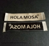 Contrassegno tessuto damasco per l'abito dell'indumento con il taglio caldo