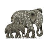 Form-Elefant-Basisrecheneinheits-Formrhinestone-Gürtelschnalle-Befestigungsteil-Kleid-Zubehör