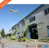 Elevatore trainabile dell'asta del ragno montato rimorchio della fabbrica/elevatore del braccio/Tabella elevatore del cielo con il motore diesel