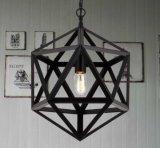 Kleines Weinlese-Land-Art-Metallhängende Lampe