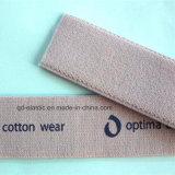 25mm Soft Plush Backside cós elástico impresso para roupa interior slips