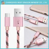 Nylon tressé chargeur magnétique 3.1 USB Câble de type C pour les appareils Android