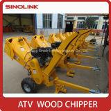Desfibradora Chipper de madera del motor de gas de Sinolink 15HP Loncin ATV