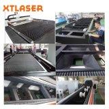 Cortadora de alta velocidad del laser de la fibra del metal de hoja del CNC para el metal cortado