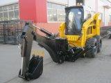 chargeuse à direction à glissement 850kg de poids de fonctionnement de la Chine Bobcat