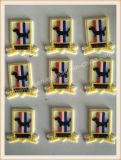 Etiqueta de borracha macia do silicone do PVC/do tipo do vestuário do OEM